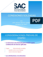 CONEXIONES SOLDADAS