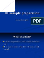 Solid Sample Preparation
