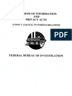 076. Part A; Council on Foreign Relations, now declassified