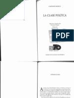 Mosca, Gaetano La Clase Política (Introducción y Cap. 2)