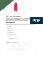Resumen Curso Optimizacion de Procesos