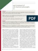 Acute Bacterial Pharyngitis