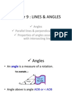 Chap9- Lines and Angles