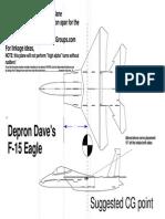 DepronDave F-15 A4Print
