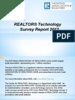 2012 Realtor Technology Survey Report