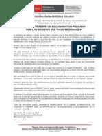 UN BOLIVIANO Y UN PERUANO SON LOS SICARIOS DEL CASO MCDONALDS