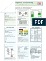 Heterogeneous Multiprocessing - On a tightly coupled Opteron Cell evaluation platform