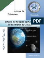 Estudio Sismico de Otuzco