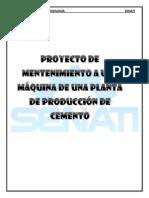 Procedimiento de Una Planta de Producción de Cemento Proyecto