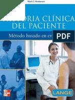 Historia Clinica Del Paciente