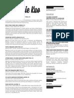 Kuo Resume Web