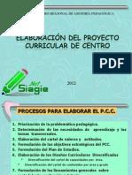 Proyecto Curricular Educativo