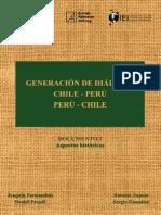 Generación de Diálogo Chile-Perú -Perú-Chile