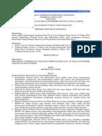 Pp 64-2010 Mitigasi Bencana Wp3k