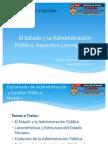El Estado y La Administración Pública