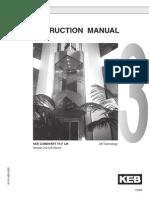 KEB F4 Manual
