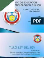 T.u.o Ley Del IGV