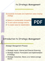 6-Introduction to Strategic Management