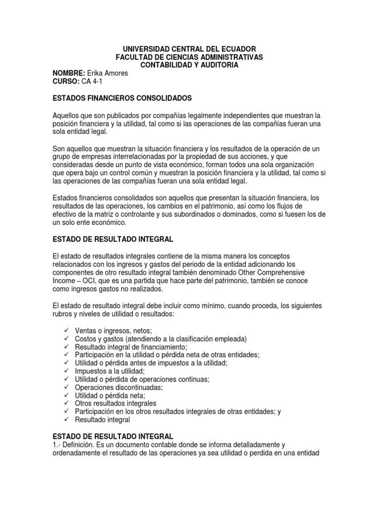 Excelente Carta De Presentación De Posición Contable Friso - Ejemplo ...