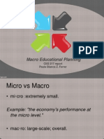 Macro Educational Planning