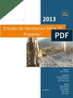 Estudio de Ventilacion Mina El Pimiento Docx