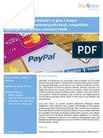 Analyzing payment industry to understand a better payment preferences