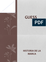 Guess - Historia Producto Marketing