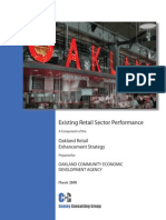 Existing Retail Sector Performance