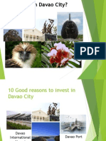 10 Good Reasons to Invest in Davao City