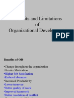 Benefits and Limitations of Organizational Development