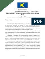 LA CORTE DI GIUSTIZIA DICHIARA L'INVALIDITÁ DELLA DIRETTIVA SULLA CONSERVAZIONE DEI DATI