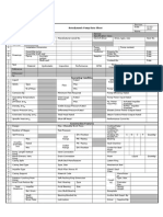 Iso 5199 Technical Specification for Centrifugal Pump-class II Data Sheet