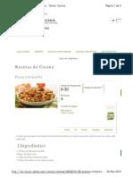 Pasta Con Hierbas