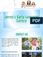 About Jennys Early Learning Centre
