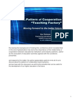 "Ppt Nur Rohman Arif _ the Pattern of Cooperation ""Teaching Factory"""