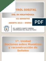 Control Digital - 1a Unidad Sistemas Muestreados
