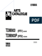 Yamaha TDM 900 Parts