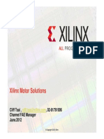 Xilinx Motor Solutions ADI Short June 2012