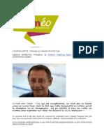 LA SINGULARITE Interview Claude FAUQUET Intégralité Juillet 2014