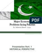 Economic Problems of Pakistan
