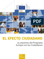 Europa Con Los Ciudadanos - 25 Proyectos