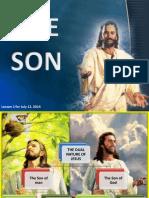 3rd Quarter 2014 Lesson 2 the Son Powerpoint Presentation