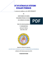 Study of Hydraulic Systems in Blast Furnace