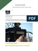 Manual Para Satfinder