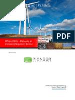 RPS and RECs – Managing an Increasing Regulatory Burden