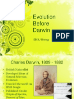 Evolution Before Darwin