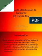 Programa de Modificacin de Conducta