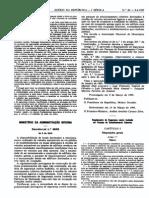 DL 66-95 - P. Estacionamento