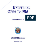 Unofficial Guide to DBA 2.2 Plus