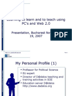 Learning with Web 2 0